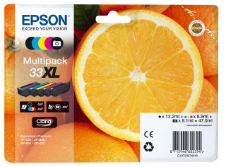 EPSON Multipack Oranges alarmé - Encre Claria Premium