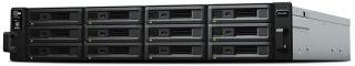 SYNOLOGY RS2418RP+ 12-Bay NAS-Rackmount SATA Quad ore 2.1 GHz 4Go RAM DDR4 up to 64Go RJ-45 4x1GbE up to 10GbE 2xUSB 3.0