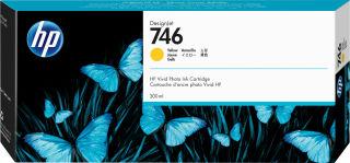 HP 746 300-ml Yellow Ink Cartridge