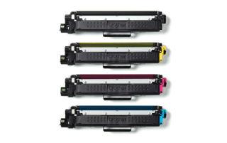 BROTHER TN243CMYK Pack Toner standard Cyan Magenta Jaune Noir 4x 1000 pages pour Hl-L32xx DCP-L35xx MFC-L37xx