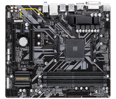 GIGABYTE B450M DS3H AMD
