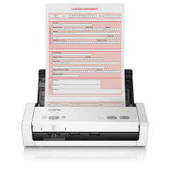 BROTHER ADS-1200 Scanner de documents compact recto-verso 25 pm/50 ipm chargeur ADF 20 f
