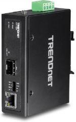 TRENDNET - hardened Industrial 100/1000Base-T to SFP Media Convertisseur (P)