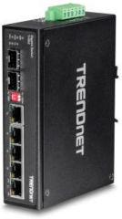 TRENDNET - 6-port hardened Industrial Gigabit Switch 5 Gigabit / 1 shared SFP (P)