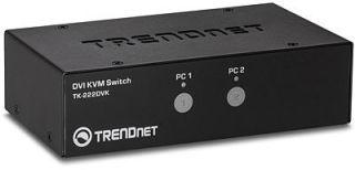TRENDNET - 2-port DVI KVM Switch Kit (P)