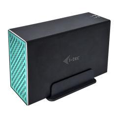 I-TEC USB 3.0/USB-C MySafe External Enclosure for 2x8.9cm 3.5p SATA HDD/SSD RAID 0/1/JBOD up to 5Gbps Alucase
