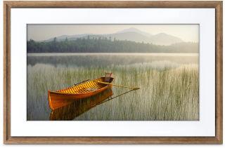 NETGEAR MEURAL 55cm 21.5p canvas dark wood frame