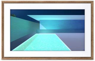 NETGEAR MEURAL 69cm 27p canvas dark wood frame