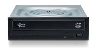 HLDS GH24NSD6 DVD-Writer Internal Retail SATA black (P)
