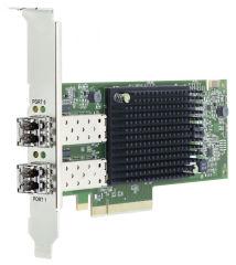 LENOVO ISG ThinkSystem Emulex LPe35002 32Go 2-port PCIe Fibre Channel Adapter