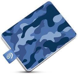 SEAGATE One Touch SSD 500Go Camo-Blue RTL
