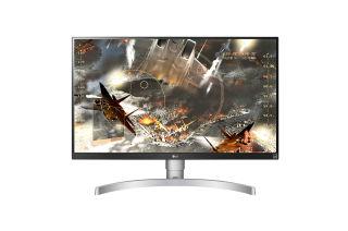 LG 27UL650-W 27p IPS UHD 4K 16:9 350cd/m2 1000:1 5ms 2xHDMI DP