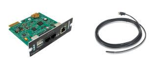 APC UPS Network Management Card with PowerChute Network Shutdown and Environmental Monitoring