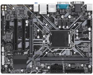 GIGABYTE H310M S2P 2.0 1151 DDR4 PCIe Gen2 x2 M.2 D-Sub DVI-D HDMI