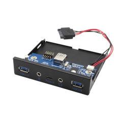 I-TEC USB-C/USB 3.0 Internal Front panel with Audio 1xUSB-C 2xUSB 3.0 1xMic 1xAudio internal USB 3.0 20 pin cable 65cm