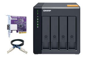 QNAP TL-D400S 4-bay desktop SATA JBOD expansion unit