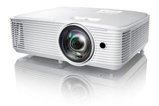 OPTOMA EH412ST 1080P 1920x1080 4000 Lumens 22000:1 3kg 0.49:1 VGA 2 HDMI HP 10W