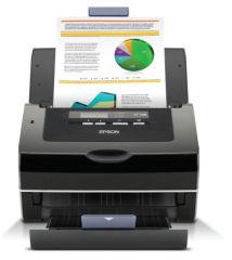 EPSON GT-S85n produit neuf emballage abimé A4 Document Scanner 600dpi 40ppm Duplex Scan75 sheet ADF USB Ethernet (P)