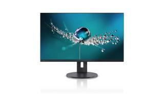 FUJITSU B32-9 TS 32p UHD 4K Matt Black Ultra Narrow bezel 4-in-1 stand DP HDMI 2xUSB 3840x2160 16:9 3YW C&R
