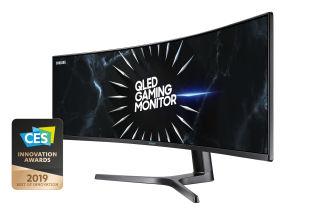 SAMSUNG LC49RG90SSRXEN 49p Curved VA Dual QHD 5120x1440 32:9 3000:1 600cd/m2 120Hz 4ms GTG Gaming DP HDMI