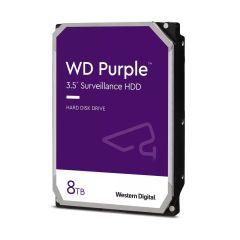 WD Purple 8To SATA 6Gb/s CE HDD 8.9cm 3.5p internal 7200Rpm 128Mo Cache 24x7 Bulk