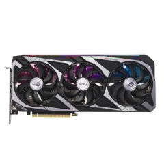 ASUS ROG STRIX RTX3060 OC 12Go GDDR6 PCIe 4.0 2xHDMI 2.1 3xDP 1.4a V2 GAMING
