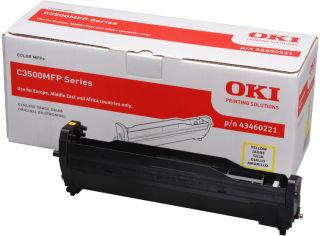 OKI C3520MFP, C3530MFP, MC350, MC360 tambour jaune capacité standard 15.000 pages pack de 1